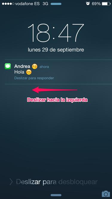 Iphone Mensajes En Pantalla Sin Desbloquear