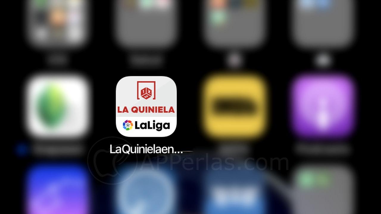 APP de QUINIELAS para iPhone  LA QUINIELA EN VIVO