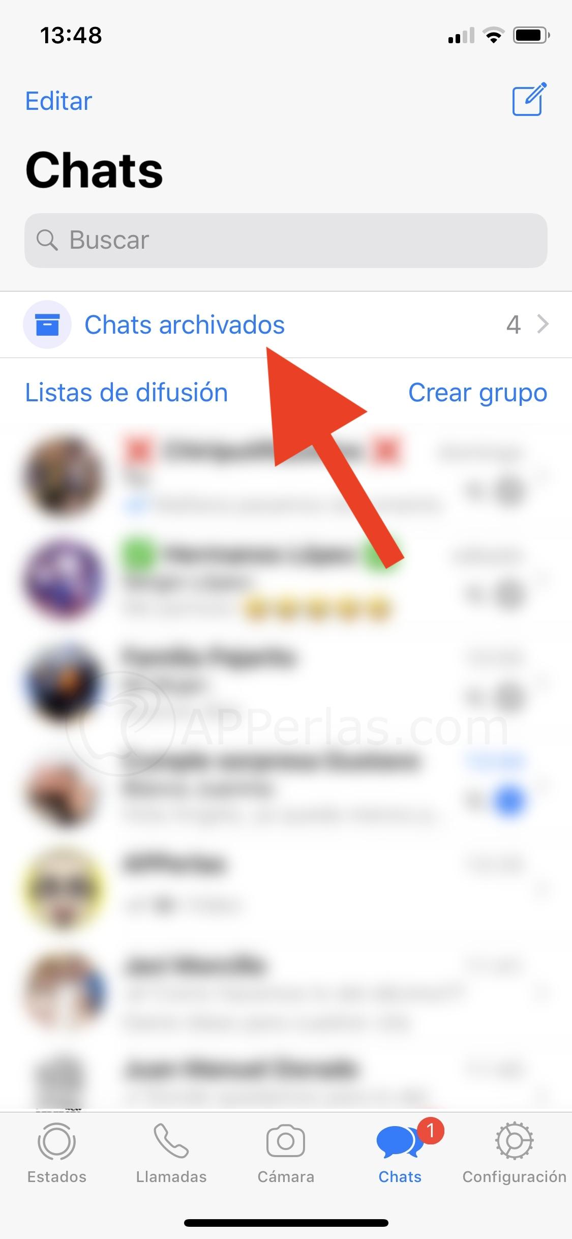 ¿Cómo archivar conversaciones de WhatsApp?