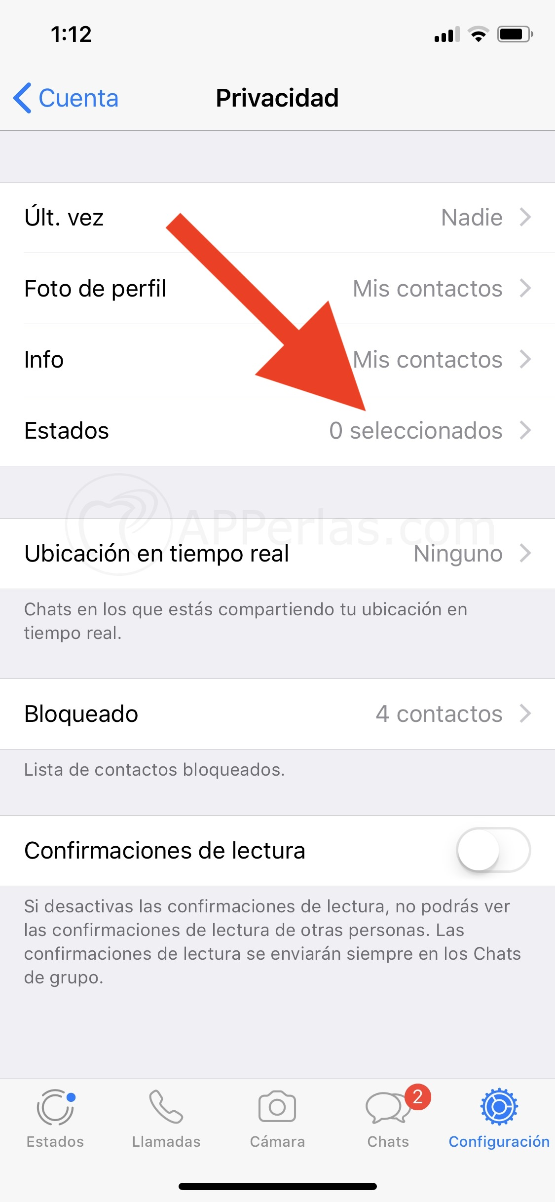Recuperar estados de whatsapp iphone
