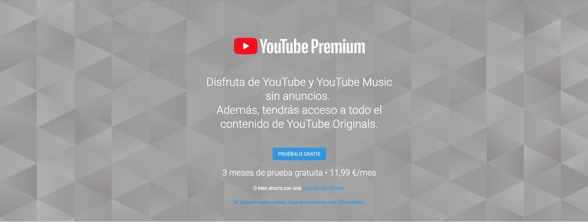 Youtube Premium y Music MÁS BARATO, si NO te suscribes desde