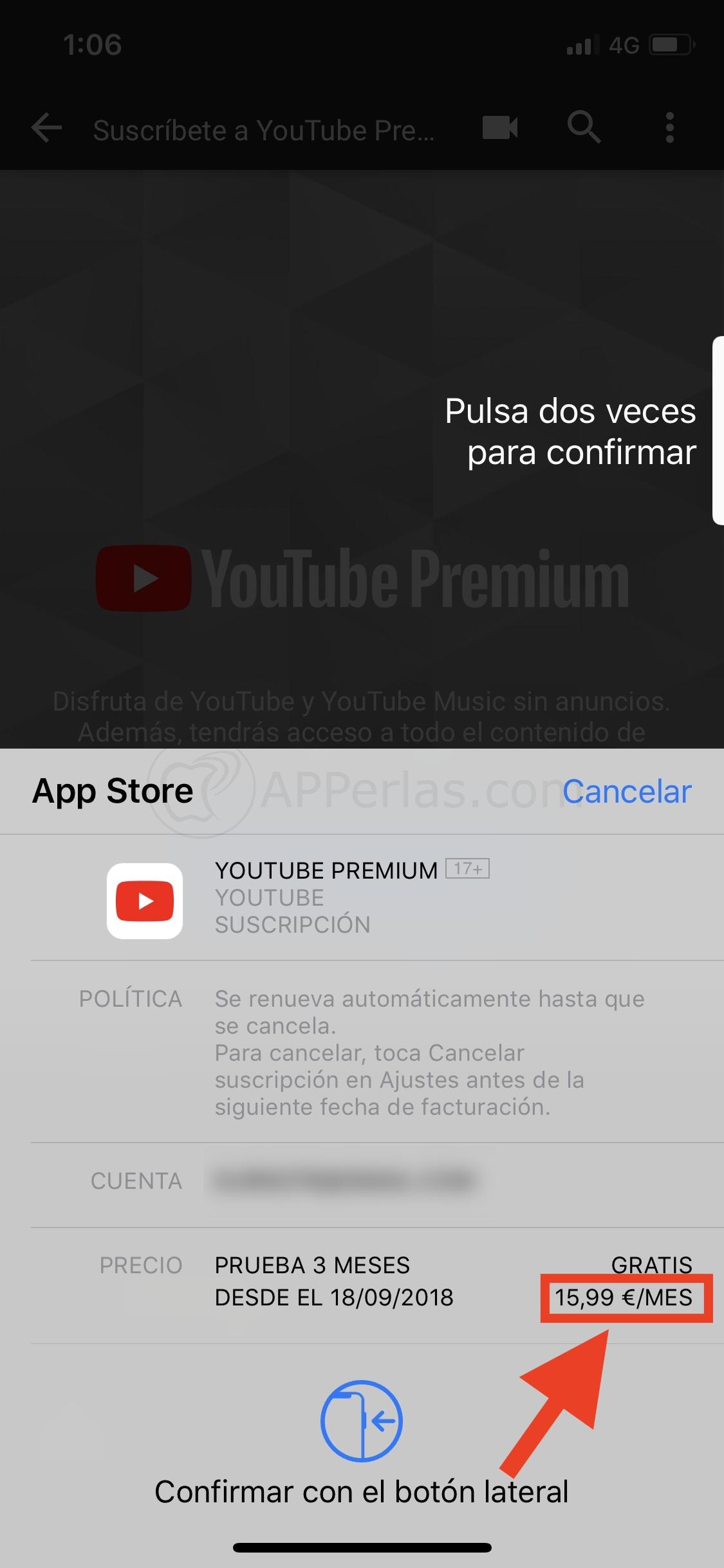 Youtube Premium y Music MÁS BARATO, si NO te suscribes desde la app