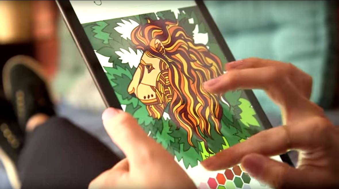 App Para Colorear Gratis Desde El Iphone Y Ipad Relájate