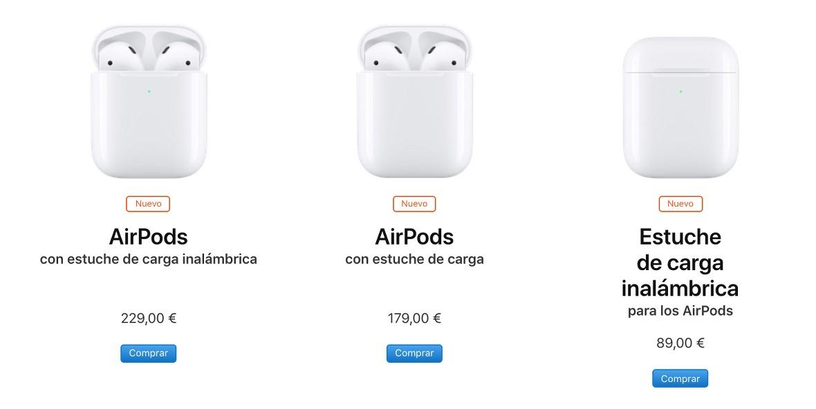 ce75535359b Características y precio de los AirPods 2, los nuevos auriculares de ...